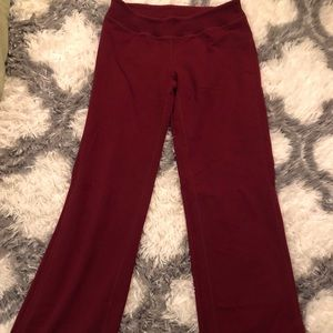 Lululemon Athletica Deep Red Leggings